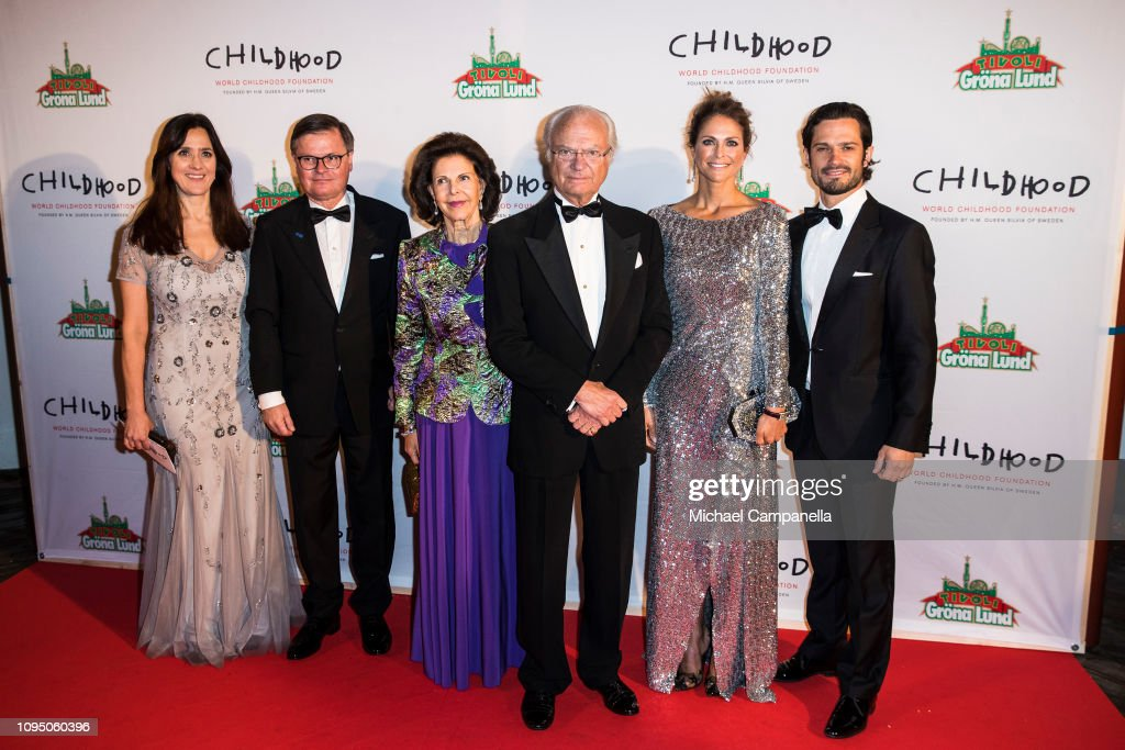 Swedish Royals Attend World Childhood Foundation's 20th Anniversary : News Photo