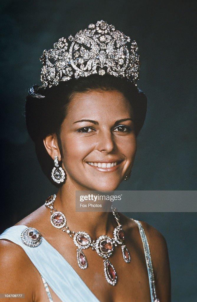 Queen Silvia Of Sweden : News Photo