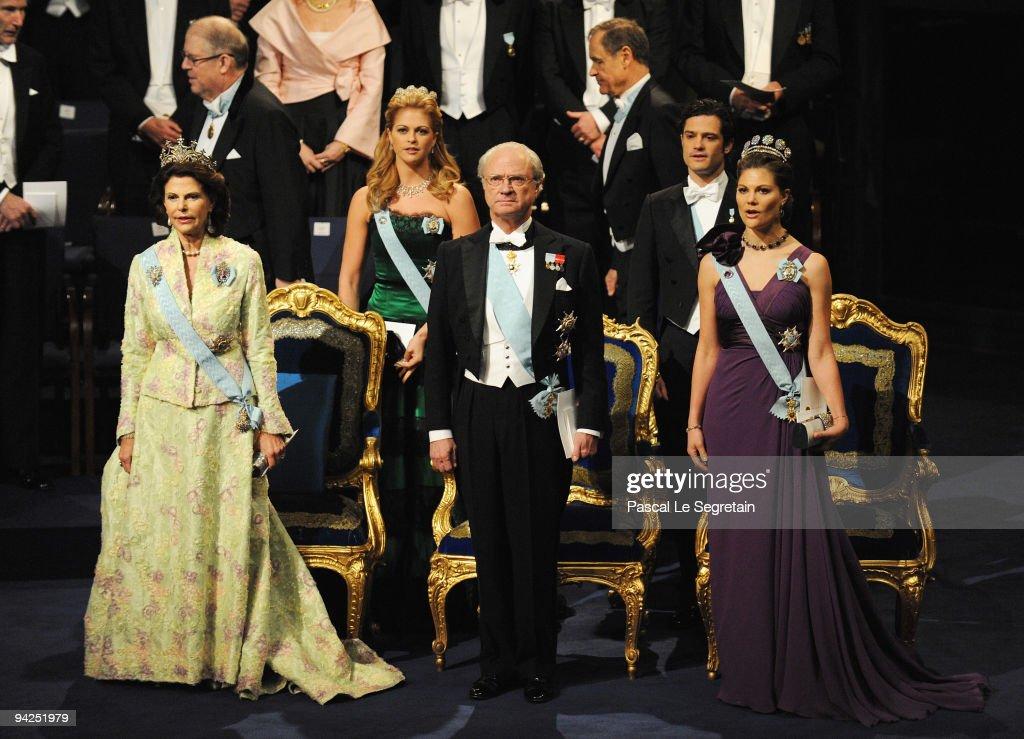 Nobel Prize Award Ceremony 2009 : News Photo