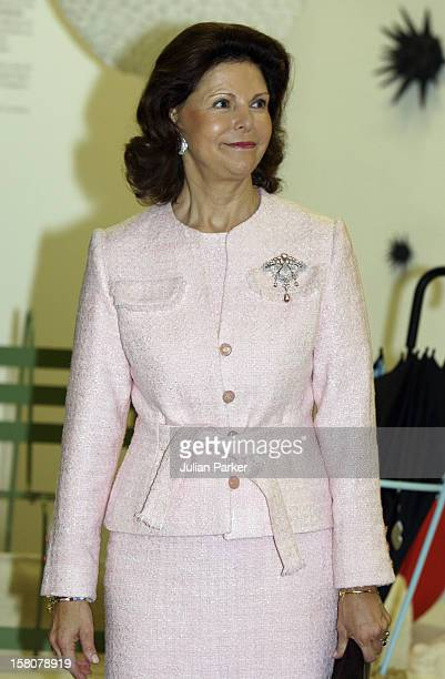 Queen Silvia Of Sweden Visits The Museum Quarter In Vienna On The Second Day Of A Three Day State Visit To Austria