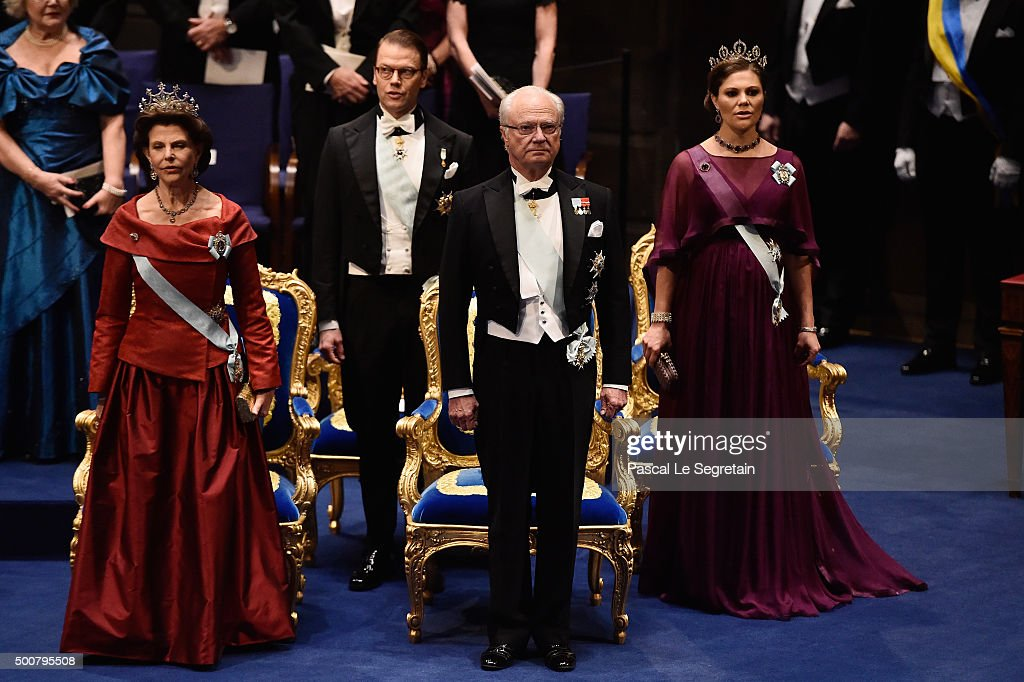 The Nobel Prize Award Ceremony 2015 : News Photo