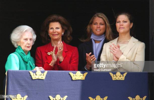 Queen Silvia, Princess Lilian, Crown Princess Victoria & Princess Madeleine Attend King Carl XVI Gustaf of Sweden'S 57Th Birthday Celebrations At The...