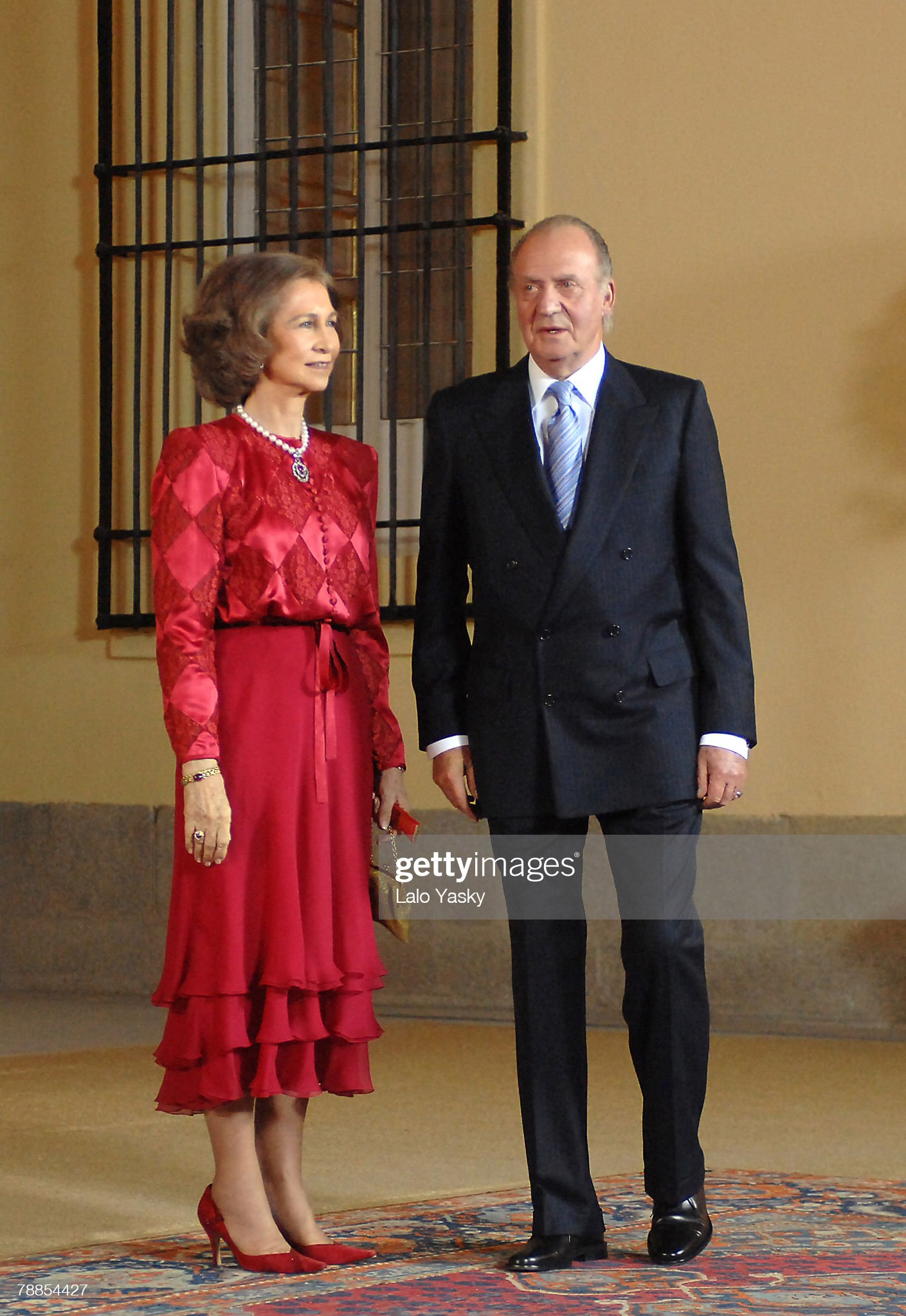 King Juan Carlos 70th Birthday Gala Dinner : News Photo