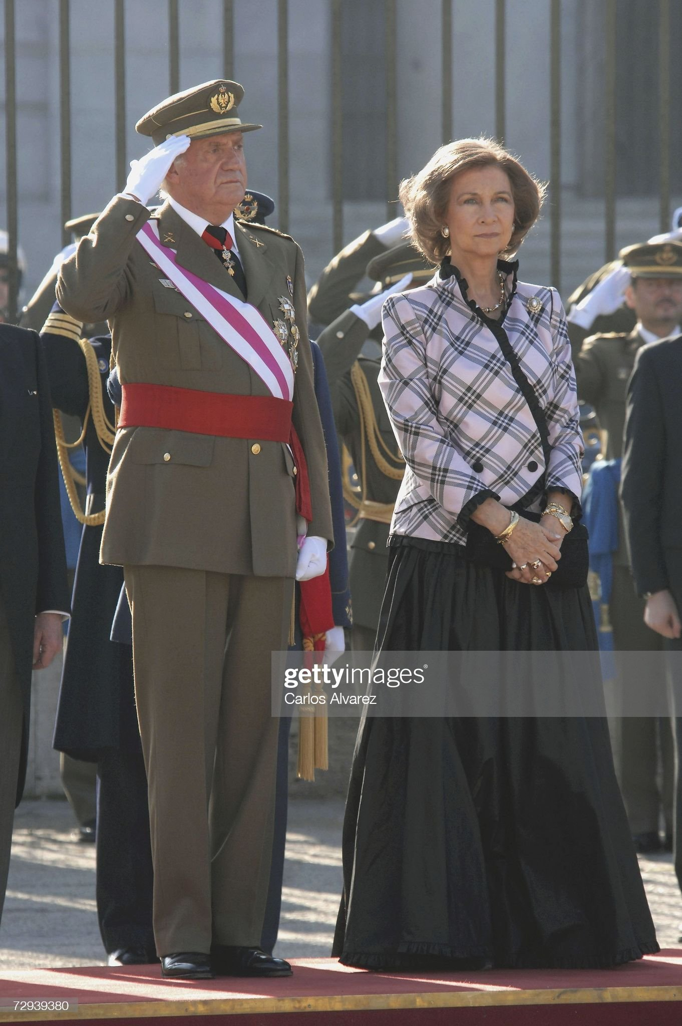 Spanish Royals Attend Pascua Militar Day : News Photo