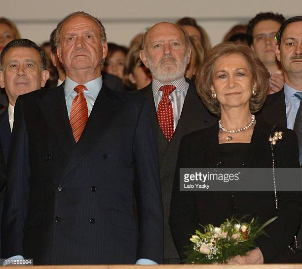 Queen Sofia and King Juan Carlos On the eve of the second anniversary of the Madrid train bombings March 10 the 'MadridLondon In Memorian' Concert