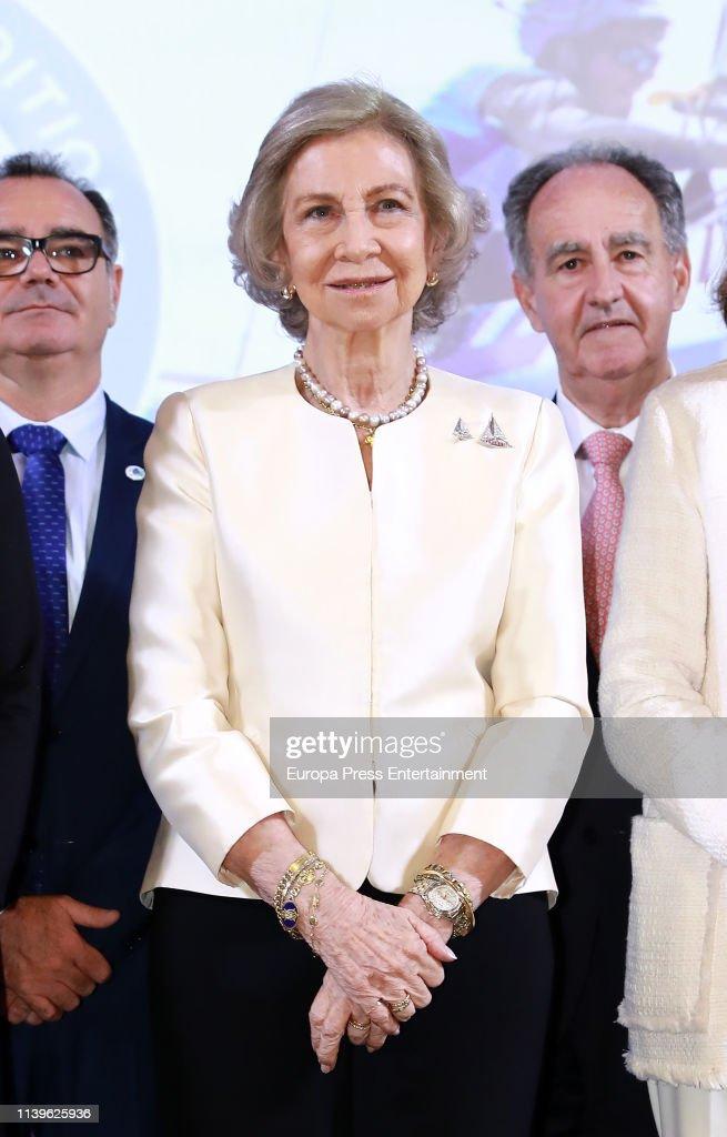 Queen Sofia Attends 50th Anniversary of 'Trofeo SAR Princesa Sofia Iberostar' : News Photo