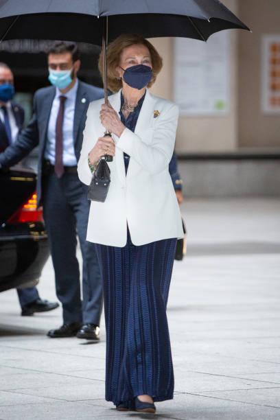 ESP: Queen Sofia Attends A Concert At Reina Sofia Museum