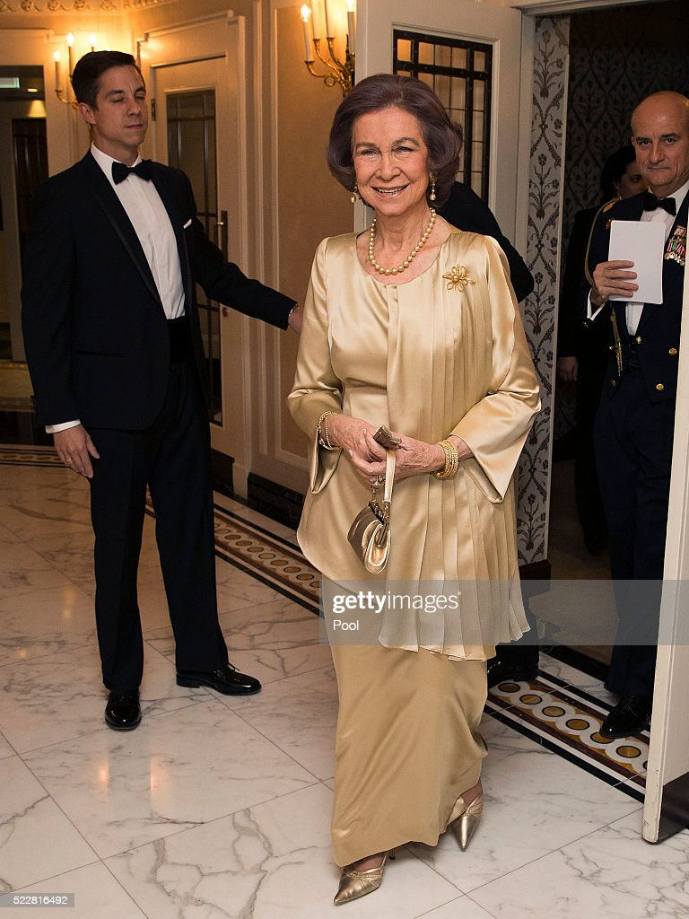 Queen Sofia Attends British Spanish Society 100th Anniversary Gala : News Photo