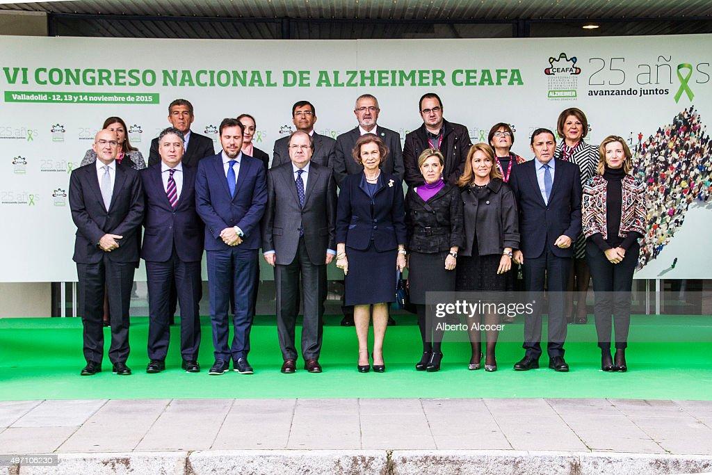Queen Sofia Attends Alzheimer Congress in Valladolid... : News Photo