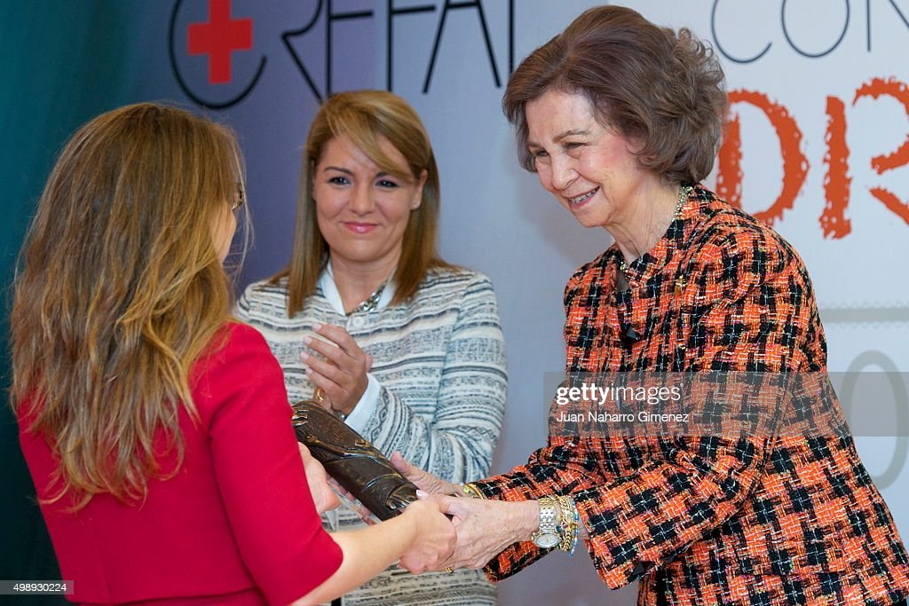 Queen Sofia of Spain Attends CREFAT Foundation Awards 2015 : News Photo