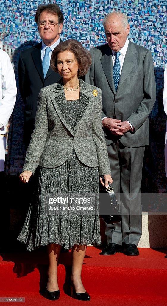 Queen Sofia Attends 'La Paz' Hospital 50th Anniversary : News Photo