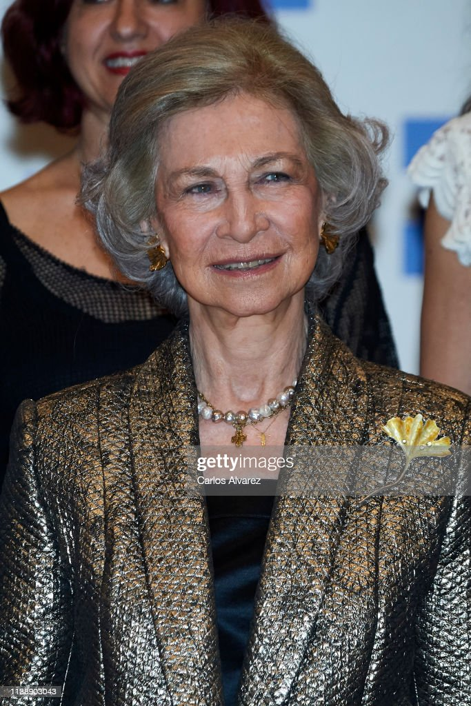 Queen Sofia Attends A Concert In Madrid : News Photo