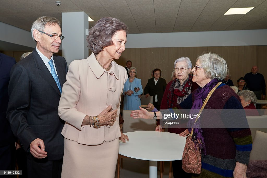 Queen Sofia Attends The Centenary of 'Padre Rubinos' Royal Charity Institution : News Photo
