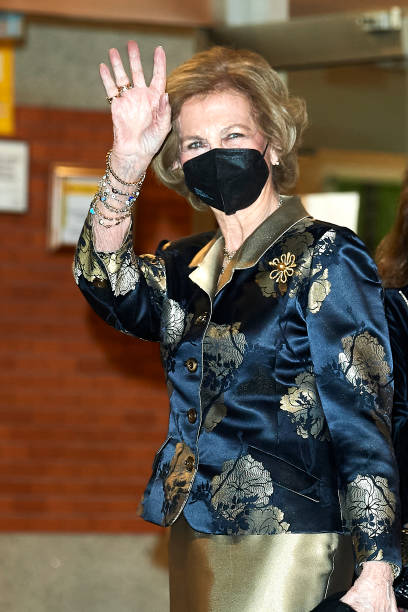 ESP: Queen Sofia Attends A Concert In Madrid
