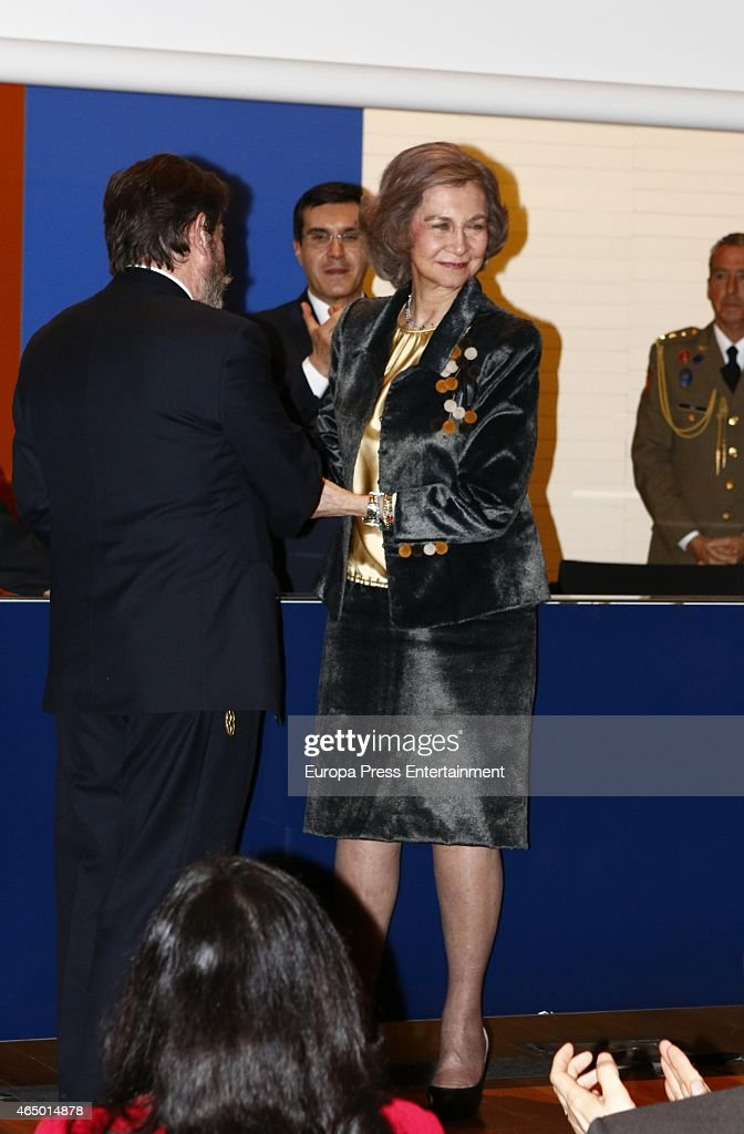 Queen Sofia Attends Queen Sofia Painting and Sculpture Award : News Photo