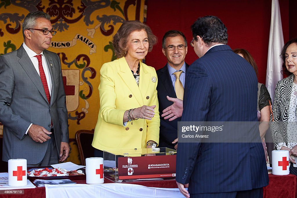 Queen Sofia Attends the Red Cross World Day : News Photo