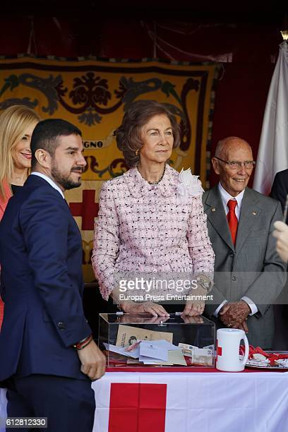 Queen Sofia attends the Red Cross World Day on October 5 2016 in Madrid Spain