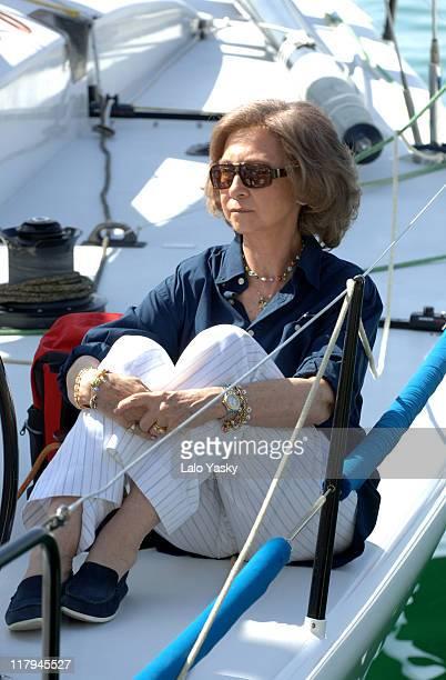 Queen Sofia in Mallorca