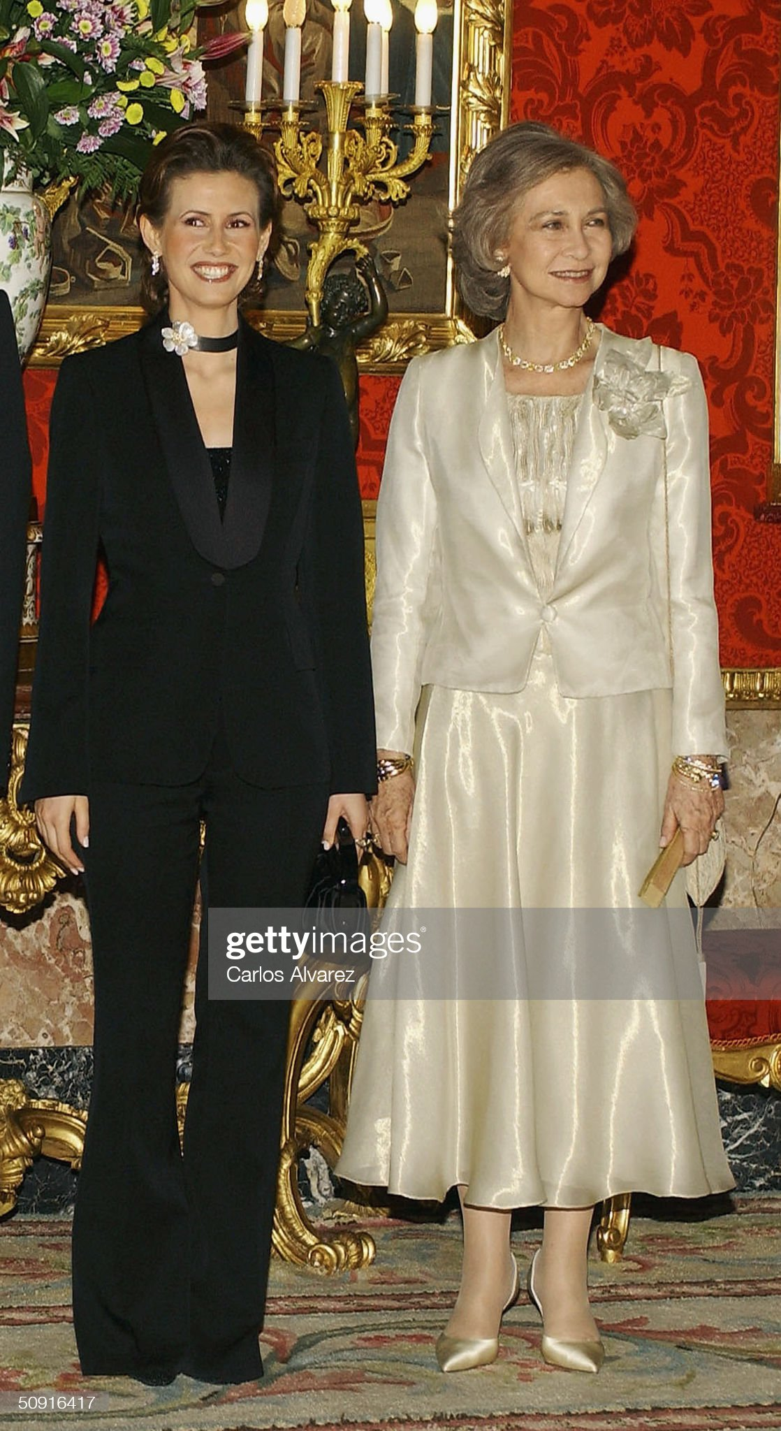 Spanish Royal Gala Dinner for Syrian President : News Photo