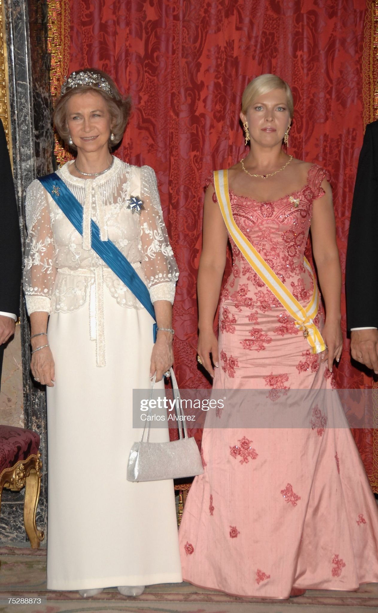 Spanish Royals Receive Estonia President Toomas Hendrik And Wife : News Photo