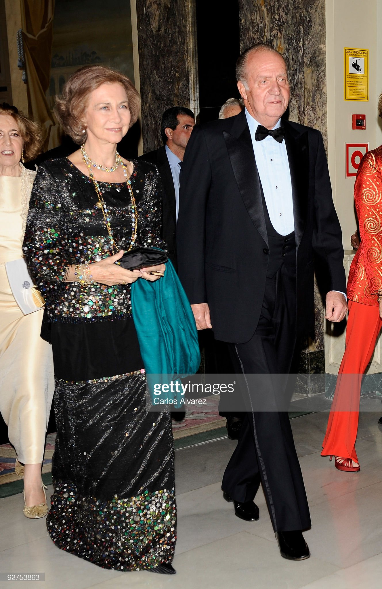 Spain's Royals Attend 'El Mundo' Newspaper 20th Anniversary Party : News Photo