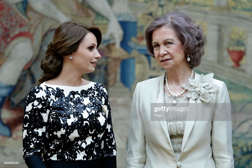 Spanish Royals Host a Reception For the President of Mexico and His Wife : News Photo