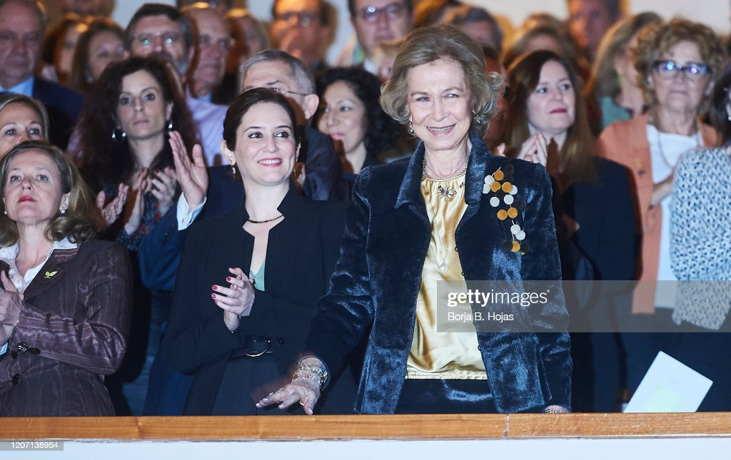 Queen Sofia Attends A Charity Concert : News Photo