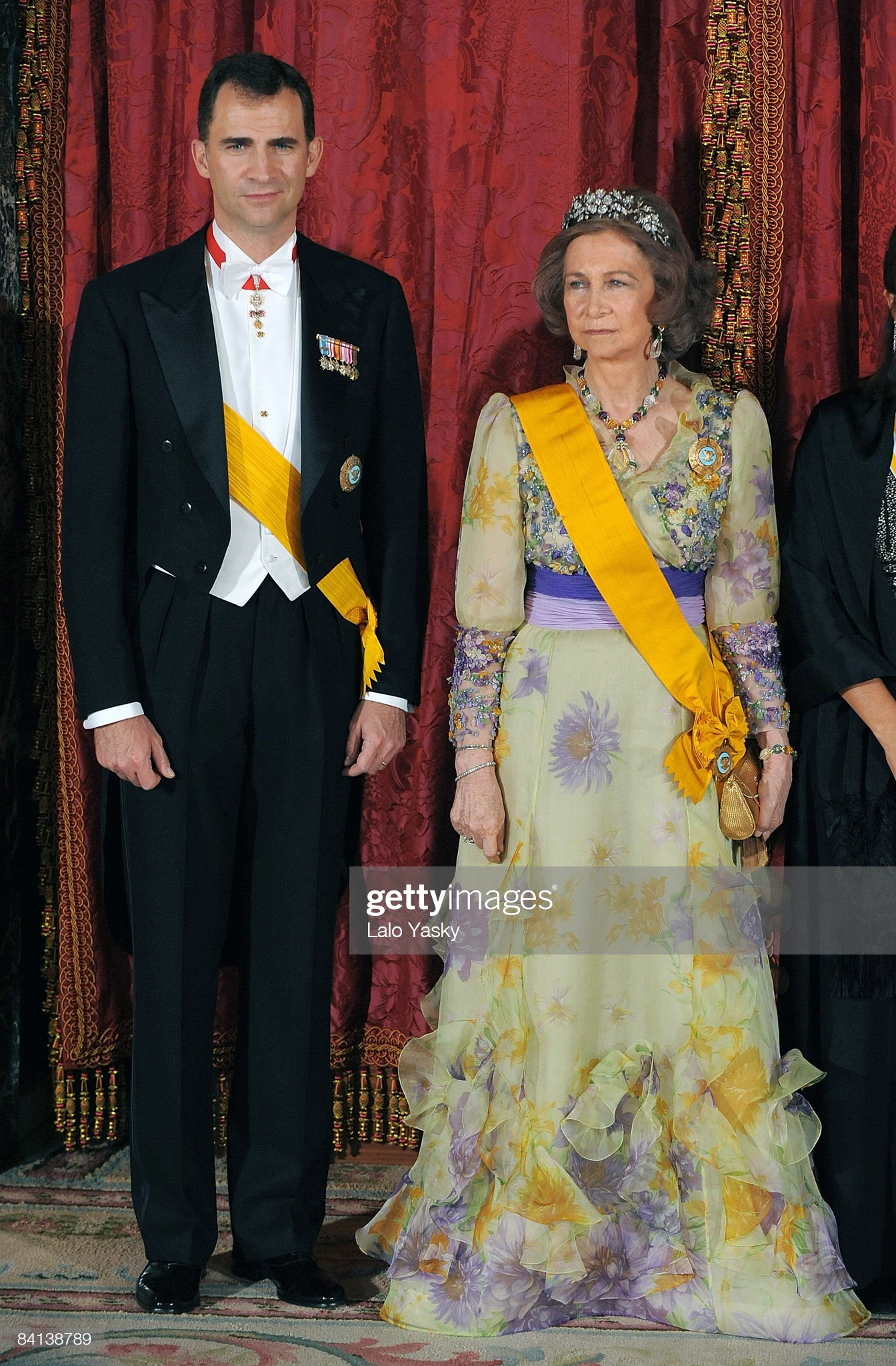 Spanish Royals Host Gala Dinner Honouring Mexican President : News Photo