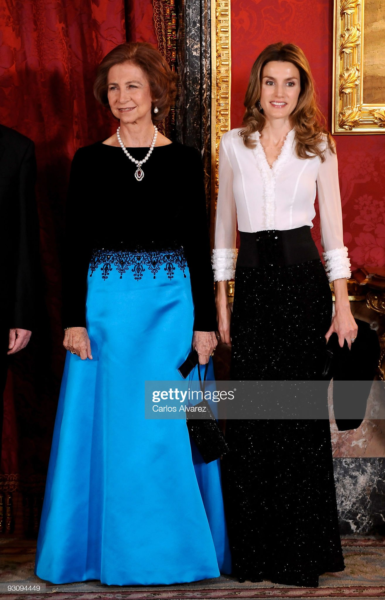Spanish Royals Host Dinner in Honour of Hungarian President : News Photo