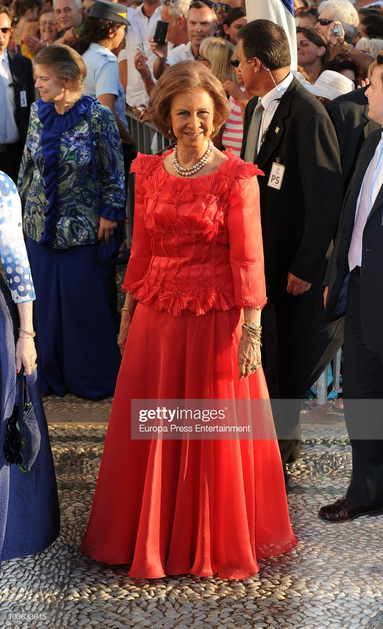 Wedding of Prince Nikolaos and Tatiana Blatnik - Arrivals : News Photo