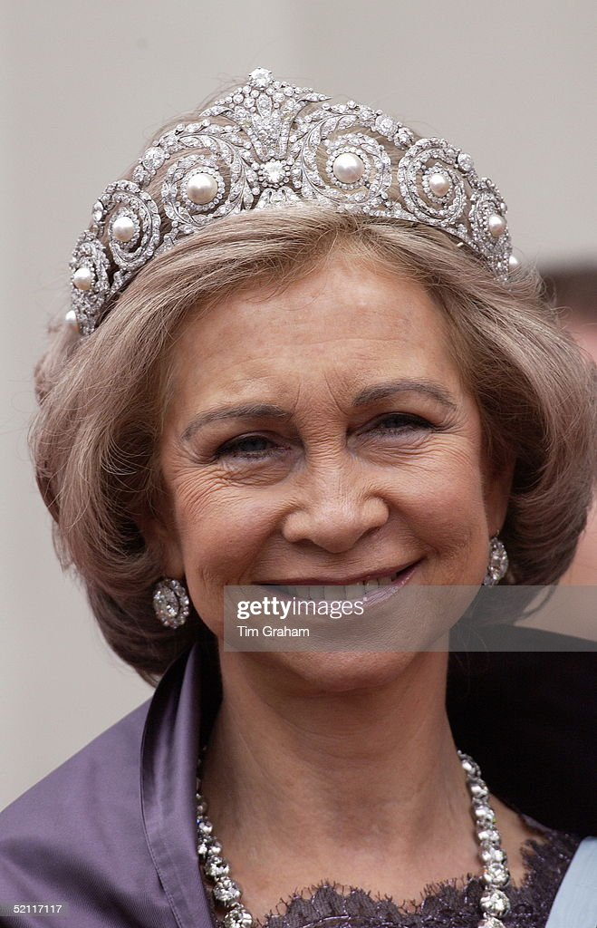 Queen Sofia Of Spain : News Photo