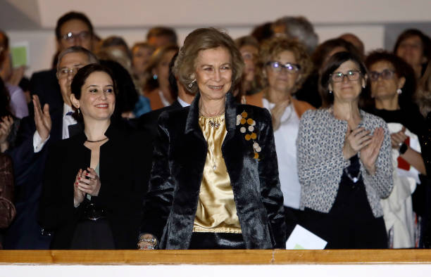ESP: Queen Sofia Attends A Charity Concert