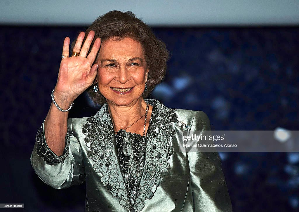 Queen Sofia Attends Opera Play in Valencia