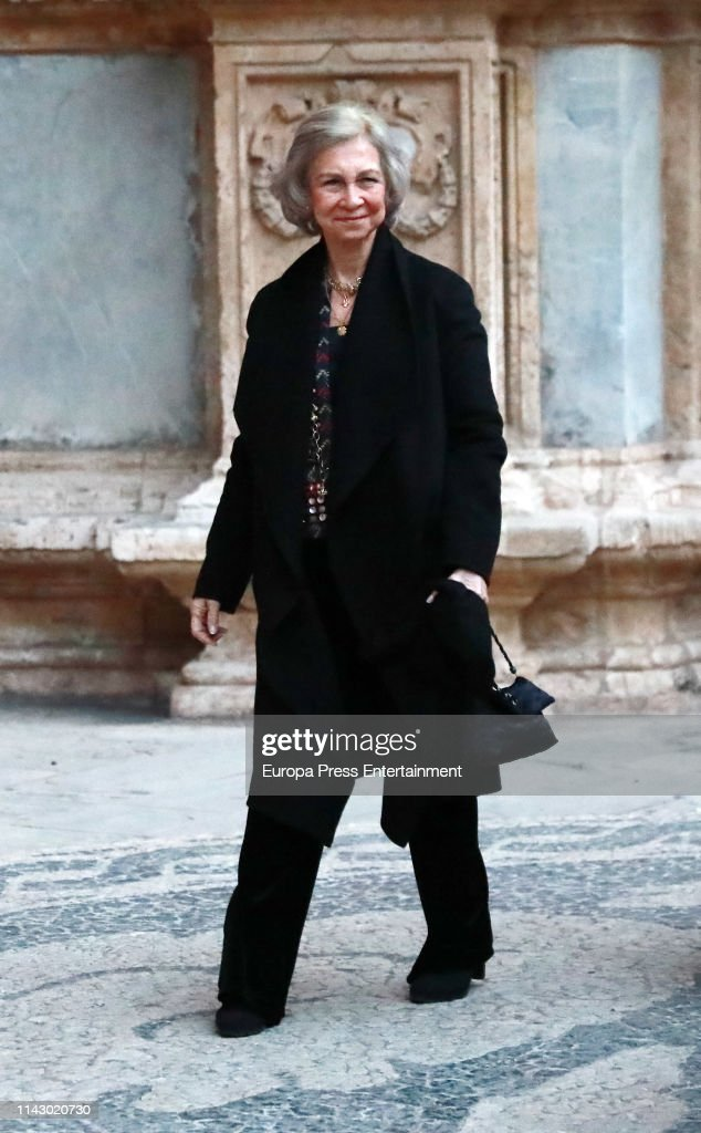 ESP: Queen Sofia of Spain Attends 'Proyecto Hombre' Concert