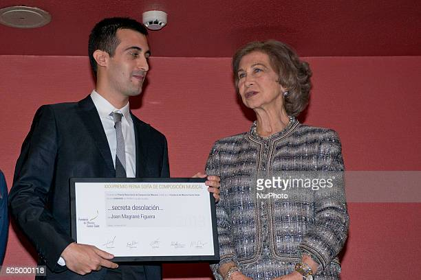 33 Queen Sofia Attends Reina Sofia Musical Composition Award 2014