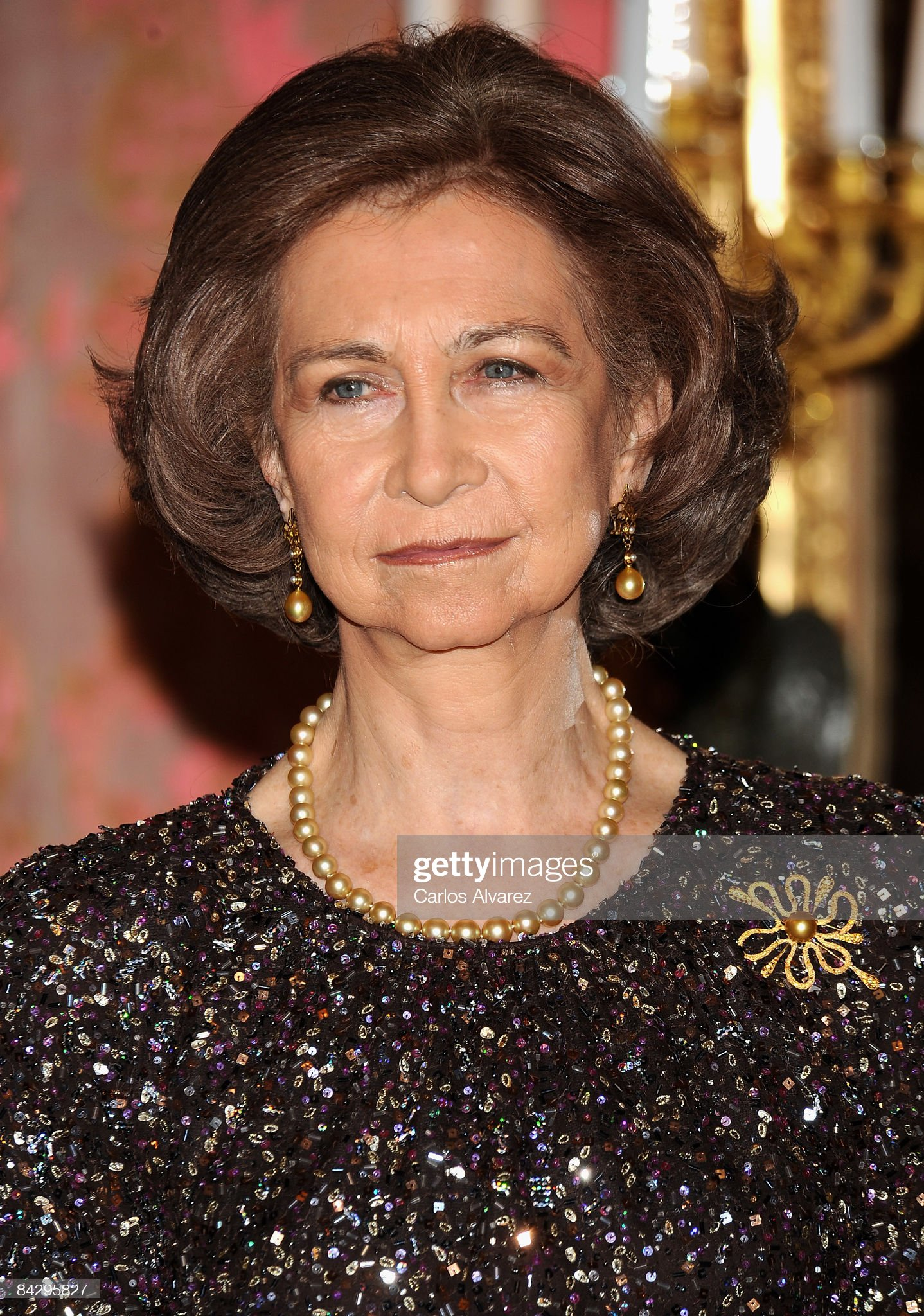 Spanish Royals Attend Zarzuela Palace : News Photo