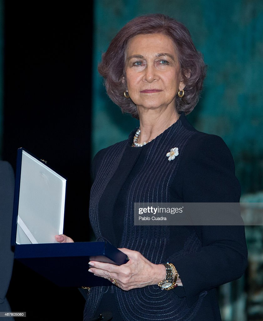 Queen Sofia Attends the Awards of the Real Foundation of Toledo Ceremony : News Photo