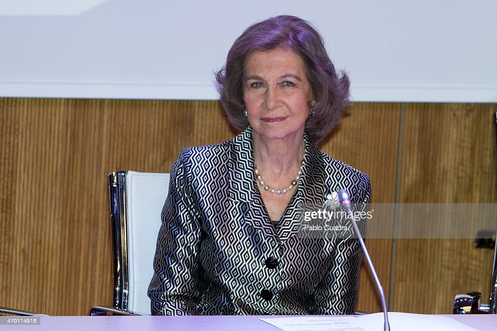 Queen Sofia Attends Europa and Hispania Nostra Awards in Madrid : News Photo