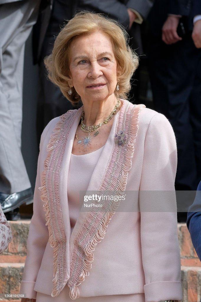 Queen Sofia Of Spain At The Inigo Alvarez De Toledo Awards : News Photo