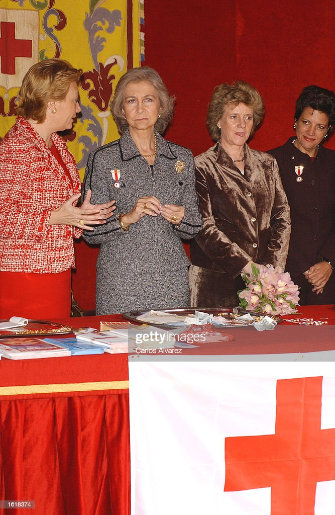 Queen Sofia Attends Red Cross Day : News Photo