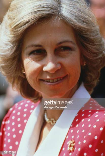 Queen Sofia of Spain London 24th April 1986