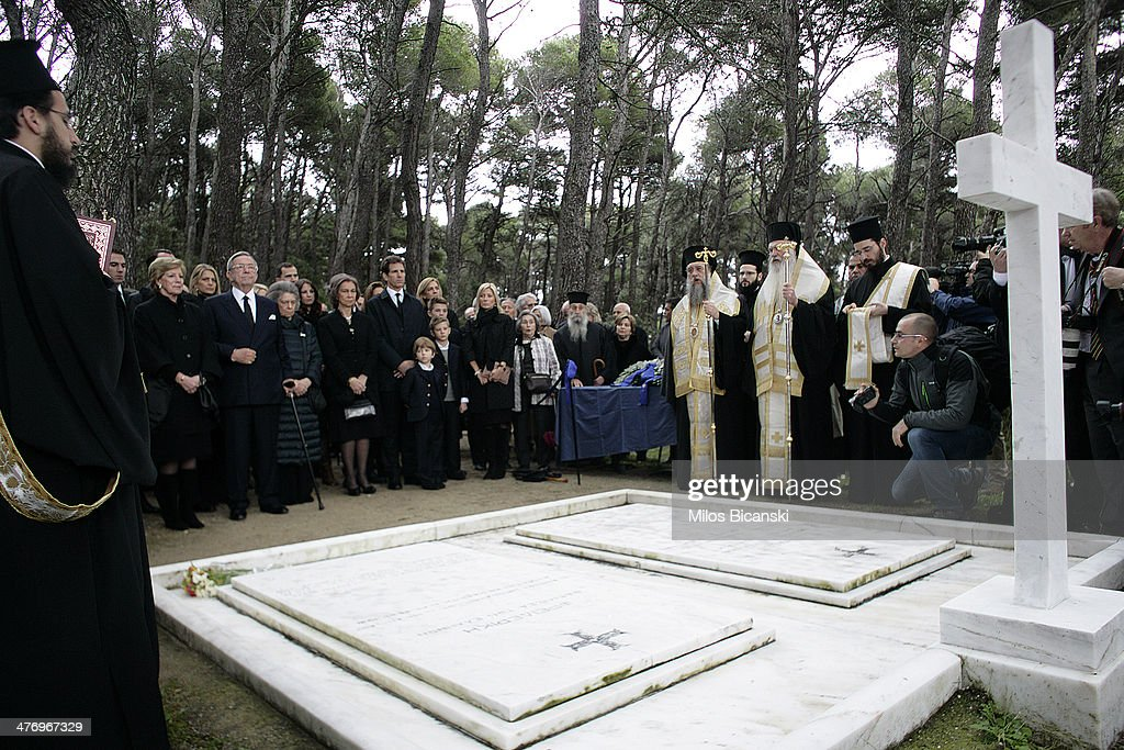 Paul Of Greece Death 50th Anniversary Ceremony