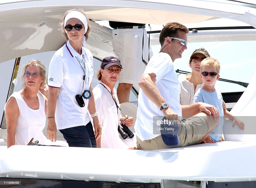 Copa del Rey Sailing Trophy - Day 1 - Princess Letizia of Spain Holiday Off