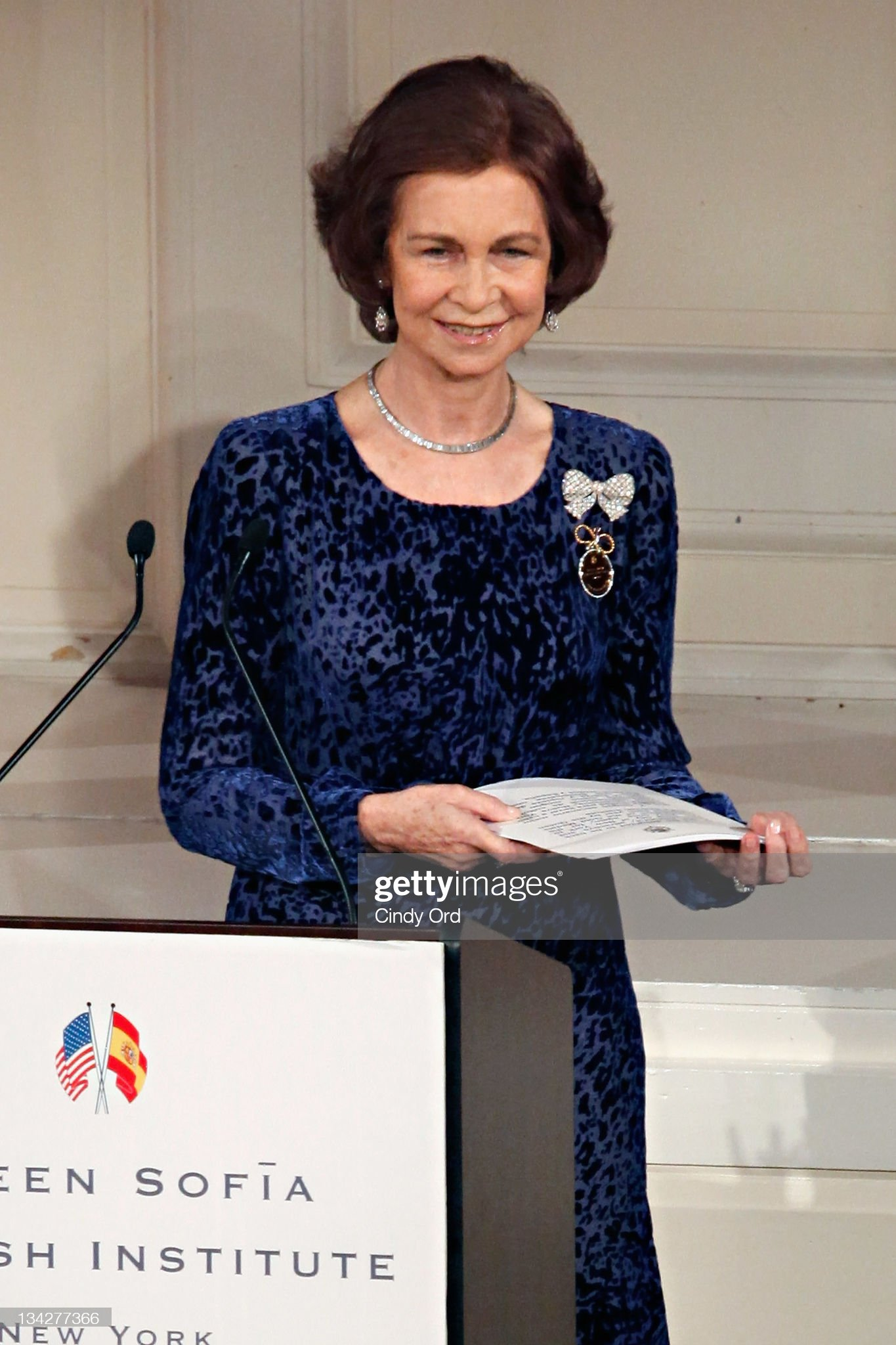 2011 Queen Sofia Spanish Institute Gold Medal Gala : News Photo