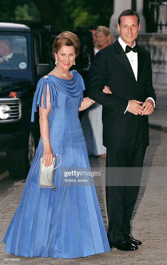 Greek Royal Wedding Gala : News Photo