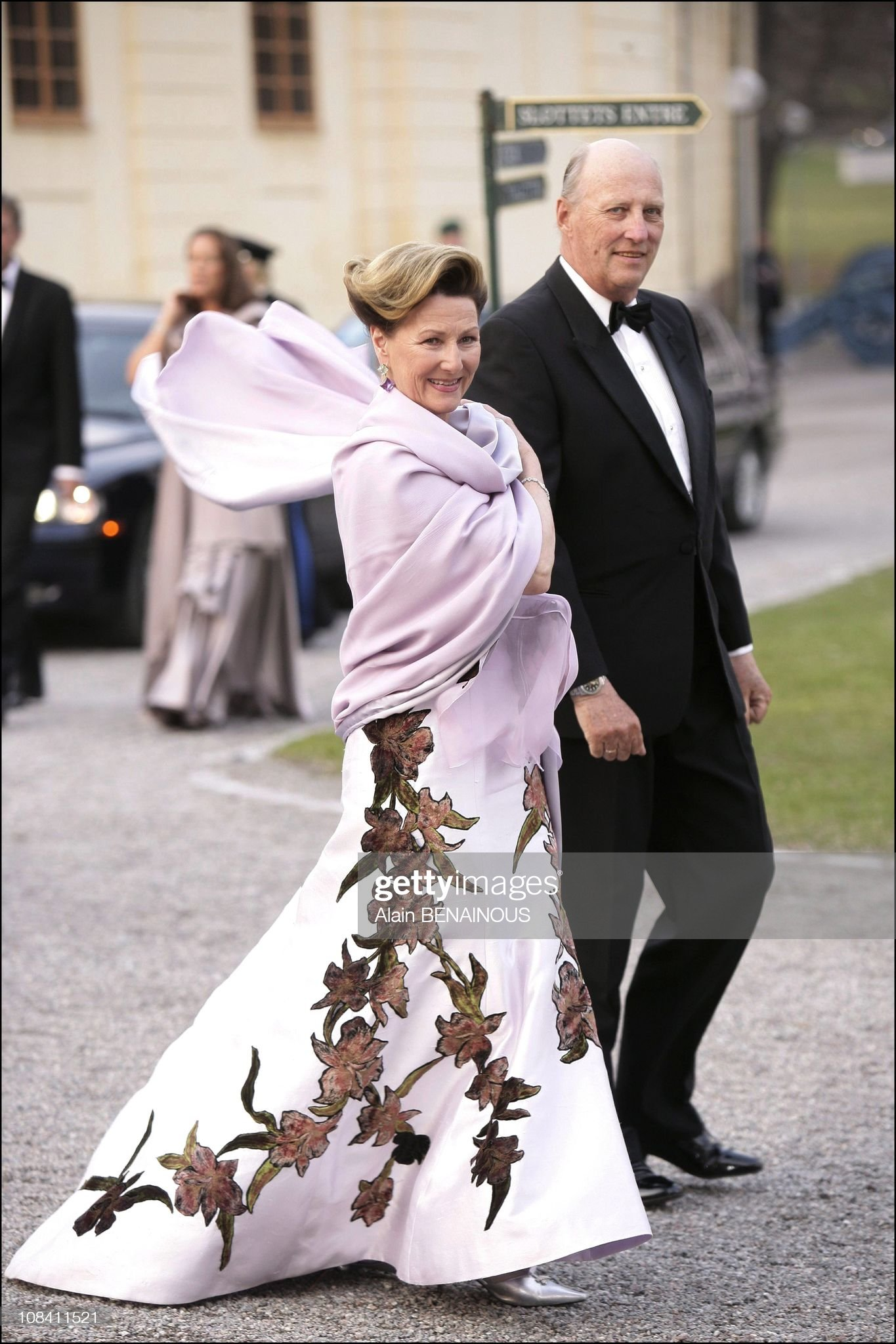 H.M King Carl Gustav's sixtieth birthday dinner at Drottningholm Palace in Stockholm, Sweden on April 29, 2006. : News Photo