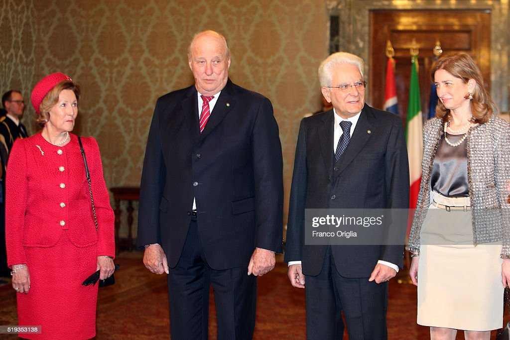 Royals Of Norway Visit Rome : News Photo