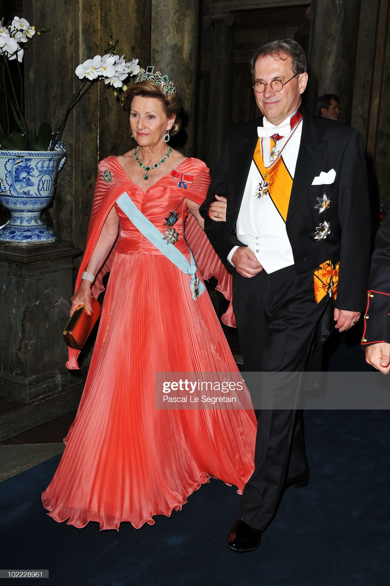 Wedding Of Swedish Crown Princess Victoria & Daniel Westling: Banquet - Inside : News Photo