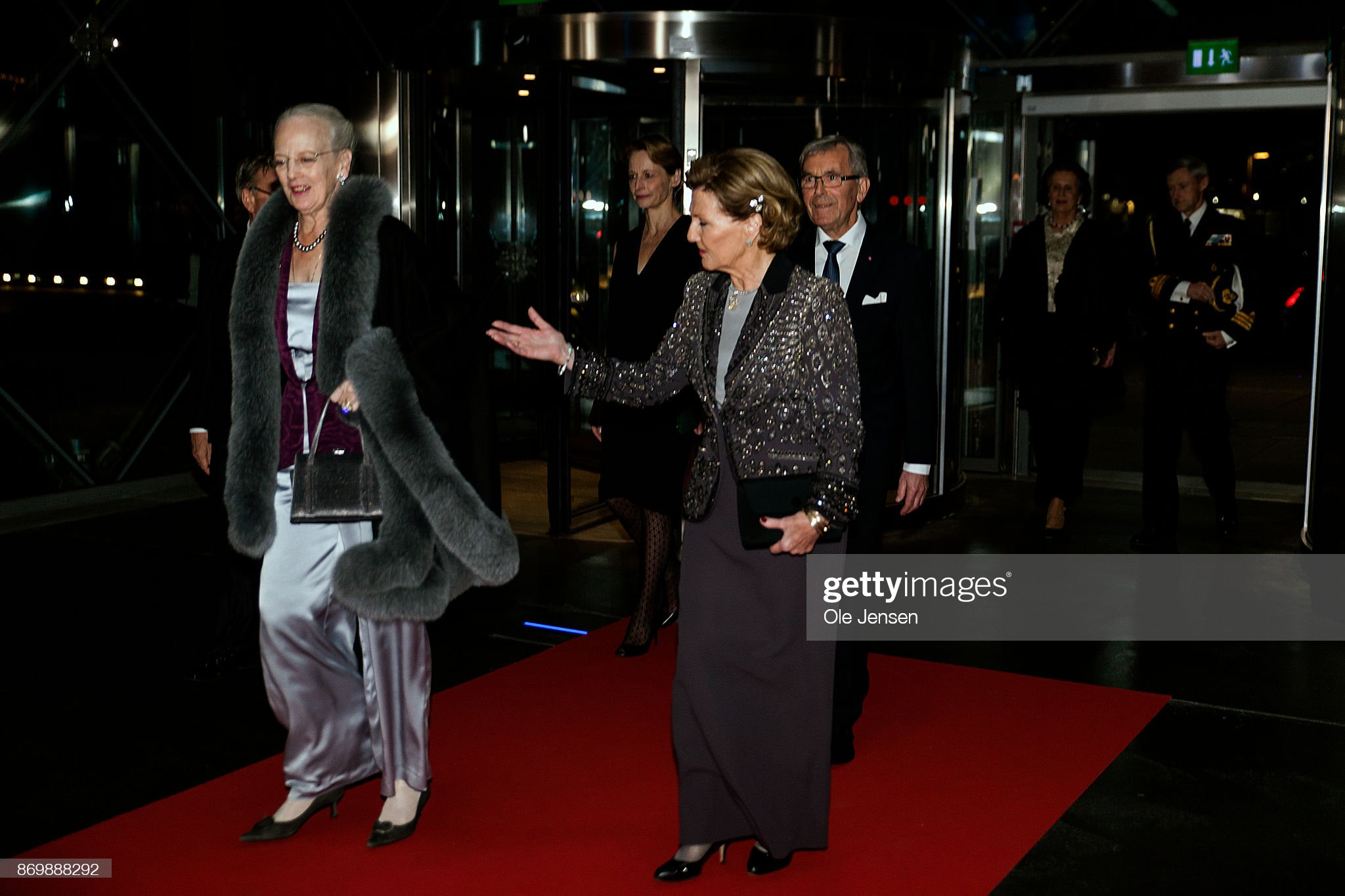 Danish Queen Margrethe And Norwegian Queen Sonja Attend International  Music Competition : News Photo