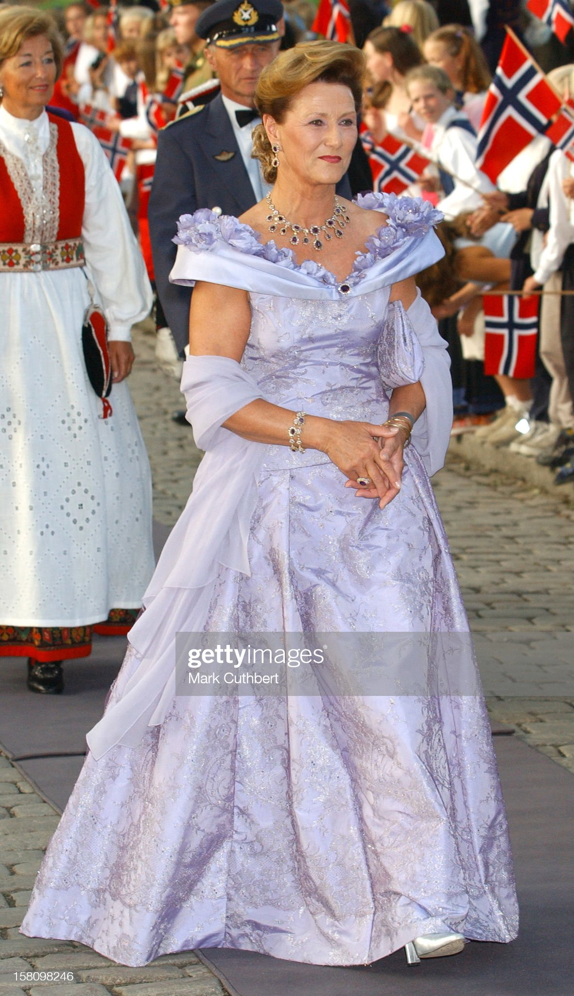 Royal Gala Dinner At Akershus Castle : News Photo